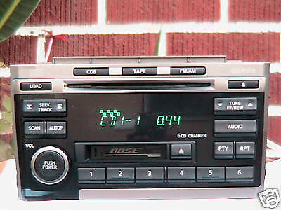 Bose Infiniti G35 Nissan Radio 6 Cd Changer Repair 4 Of 7