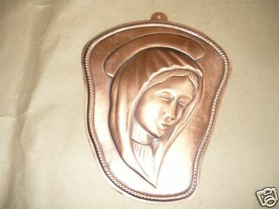 ICON MADONNA COPPER EMBOSSED