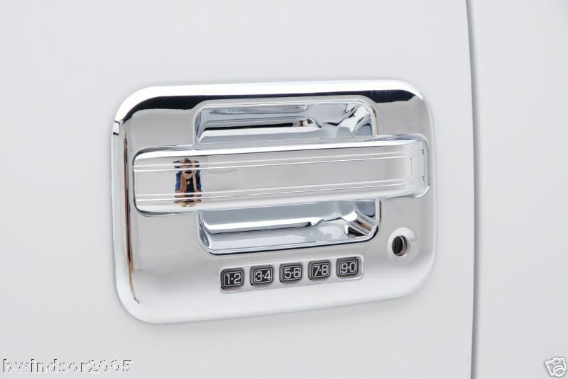 F150 chrome door handle covers trim 4 door 04 05 06 07 08 09 2010 2011